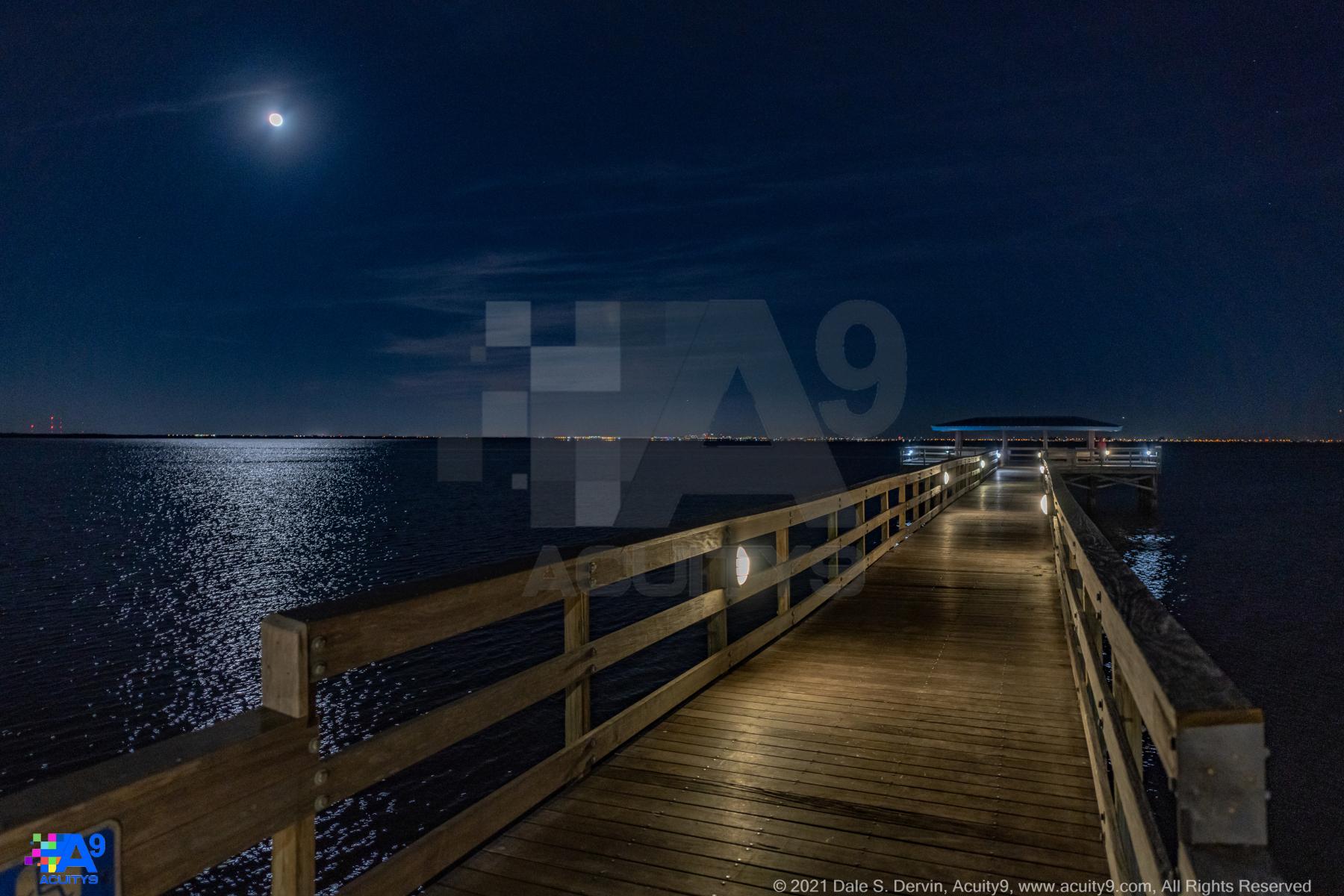 Full Moon on the Pier